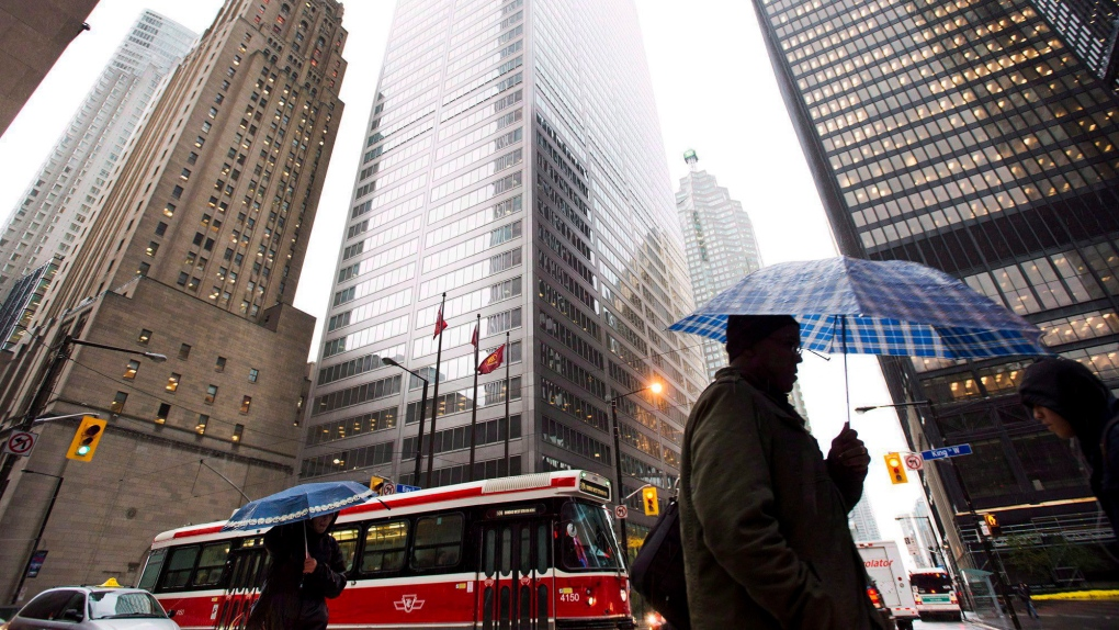 Heavy rain, thunderstorms hit Toronto, much of GTA