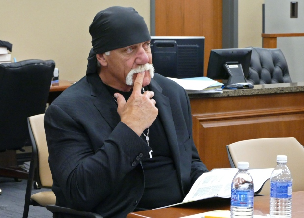 Hulk Hogan takes the stand in sex tape lawsuit against Gawker