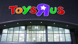 Shoppers wait in line at the Toys 'R' Us in Dallas on Thursday Nov. 22, 2012. (Dallas Morning News / Stan Olszewski)