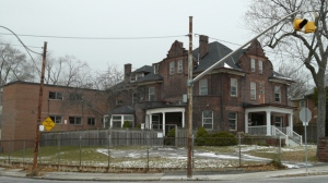 The William Harris House is seen at the corner of Pape and Riverdale avenues. (Architectural Conservancy of Ontario)