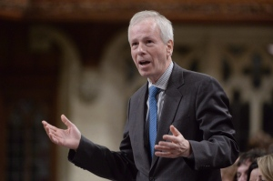 Foreign Affairs Minister Stephane Dion responds to a question during question period in the House of Commons in Ottawa on Feb. 4, 2016. (The Canadian Press/Adrian Wyld)