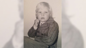 Rob Ford as a young boy.