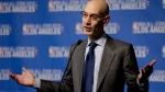 NBA Commissioner Adam Silver is shown in this file photo. (AP Photo/Chris Carlson)