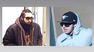Police have released these images of a suspect wanted in connection with 10 west-end bank robberies.
