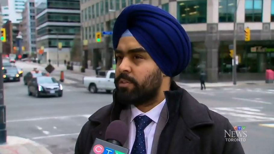 Supininder Khehra and his friend were visiting Quebec City over the Easter long weekend when a group of men began yelling at them from a parked car.