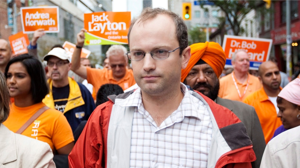 A Toronto city councillor since 2010, Mike Layton represents Ward 19 Trinity-Spadina. He is the son of Jack Layton, who as leader of the federal New Democrats led the party to become the official opposition for the first time in the party's history, winning 103 seats in the 2011 federal election. Layton has not publicly expressed any interest in running as of yet. (Darren Calabrese/THE CANADIAN PRESS)