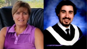 Karen Costa and Jeffrey Costa are pictured in images posted to an online obituary. (Catholic Cemeteries & Funeral Services - Archdiocese of Toronto)