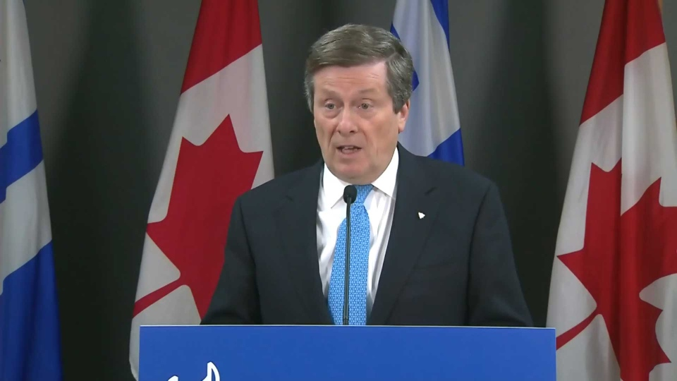 Tory says he's planning meeting with black leaders | CP24.com
