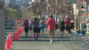 GoodLife Marathon in Toronto