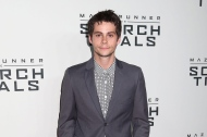 """In this Sept. 15, 2015 photo, Dylan O'Brien attends the premiere of """"Maze Runner: The Scorch Trials"""" in New York. Principal photography on """"Maze Runner: The Death Cure"""" has been further delayed to allow O'Brien more time to recover from injuries he incurred during the shoot in mid-March. 20th Century Fox said in a statement Friday, April 29, 2016, that it looks forward to restarting production as soon as possible. (Photo by Greg Allen/Invision/AP, File)"""