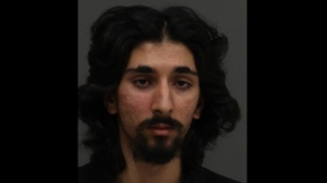 Haaris Khan, 21, pictured in a Toronto police handout photo.