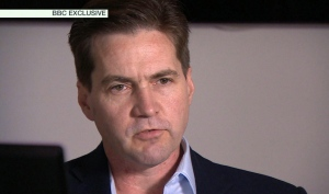 This framegrab made available by the BBC on Monday May 2, 2016 shows creator of the Bitcoin, Craig Wright speaking in London. (BBC News via AP)