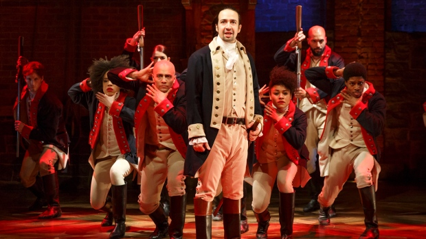 Broadway hit Hamilton is coming to Toronto