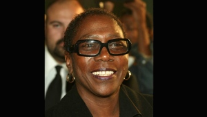 Afeni Shakur Davis is pictured in this photo from her Facebook page.