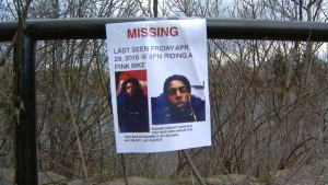 Ackeel Wynter is seen in this missing person poster.