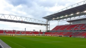 A view of the southeast corner of the newly renovated stadium. (Twitter/@torontofcBRA)