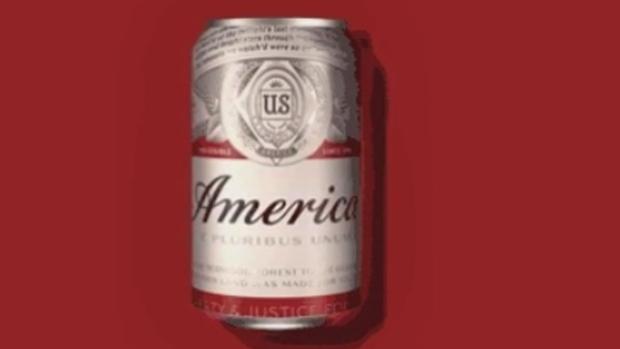 Budweiser can rebranded as America