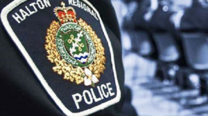 A Halton Police crest is seen here in this file photo.