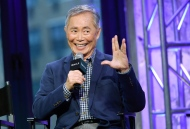 """Actor George Takei participates in AOL's BUILD Speaker Series to discuss the Broadway musical """"Allegiance"""" at AOL Studios on Thursday, Dec. 3, 2015, in New York. (Photo by Evan Agostini/Invision/AP)"""