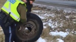 wheel off