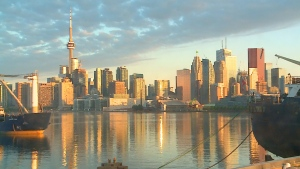 Toronto's downtown skyline is pictured in this file photo.