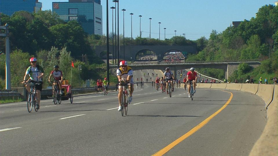 DVP, Gardiner Closed Sunday For Ride For Heart