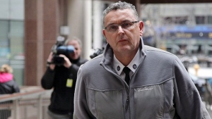 Supt. David (Mark) Fenton is seen outside police headquarters in Toronto in an April 13, 2016, file photo. (THE CANADIAN PRESS/Colin Perkel)
