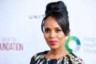 Kerry Washington arrives at The SAG-AFTRA Foundation 2016 Los Angeles Golf Classic on Monday, June 13, 2016, in Burbank, Calif. (Photo by Rich Fury/Invision/AP)