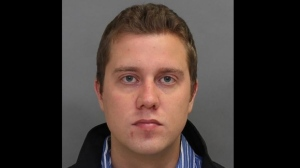 Darren Michael Slosel, 28, is pictured in a Toronto Police handout photo.
