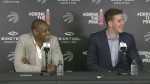 Jakob Poeltl press conference