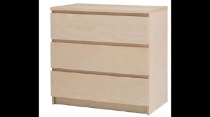 A Malm dresser being recalled by Ikea, pictured in a stock image. (Twitter/Ikea USA)