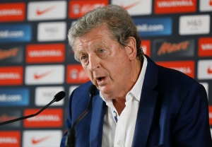 England soccer team coach Roy Hodgson speaks during a press conference in Chantilly, France, Tuesday, June 28, 2016. Hodgson resigned after England's soccer team was knocked out of the Euro 2016 by Iceland in a round of 16 match on Monday. (AP Photo/Kirsty Wigglesworth)