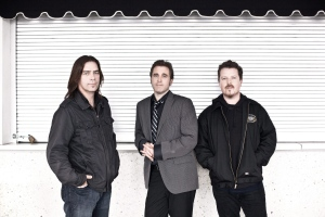 FILE--Members of the band Great Big Sea (left to right) Alan Doyle, Sean McCann, Bob Hallett are shown in a handout photo. Great Big Sea's new album features the sort of raucous drinking tunes that they would have played in pubs when they were first starting out, nearly 20 years ago.THE CANADIAN PRESS/HO-Dustin Rabin