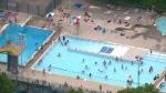 pools, open