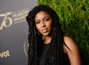 """In this May 21, 2016, file photo, Jessica Williams attends the 75th Annual Peabody Awards Ceremony in New York. Williams left Comedy Central's """"Daily Show"""" on June 30, 2016, to begin work on a pilot for a half-hour scripted series on the cable network. (Photo by Evan Agostini/Invision/AP, File)"""