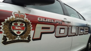 A Guelph police cruiser is seen in this undated file photograph.
