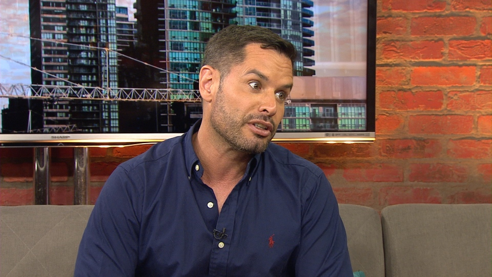 Pride Toronto Executive Director Mathieu Chantelois is pictured.