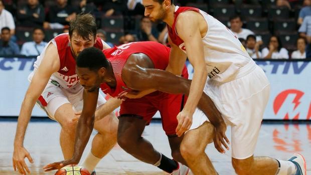 Canada Turkey basketball