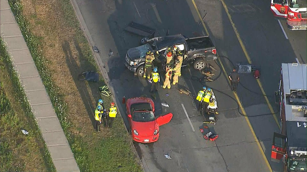 Man critically injured in Richmond Hill crash | CP24 com