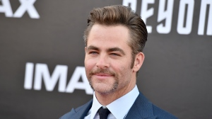 "Chris Pine arrives at the world premiere of ""Star Trek Beyond"" at the Embarcadero Marina Park South on Wednesday, July 20, 2016, in San Diego. (Photo by Jordan Strauss/Invision/AP)"