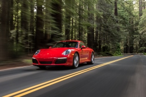 2017 Porsche 911 Carrera exterior. PRESS.PORSCHE.COM.
