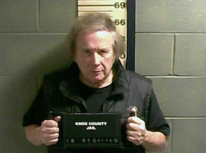"This Monday, Jan. 18, 2016 file booking photo provided by the Knox County Jail shows Don McLean. ""American Pie"" singer McLean admitted to domestic violence assault against his estranged wife, and will avoid jail time. The singer-songwriter pleaded guilty in court Thursday, July 21, to the charge and related counts. (Knox County Jail via AP, File)"
