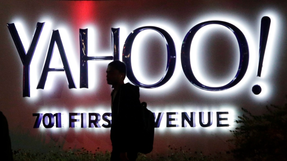 A Toronto law firm has filed a $50-million notice of action against Yahoo over security breaches.  (File/ THE ASSOCIATIED PRESS)