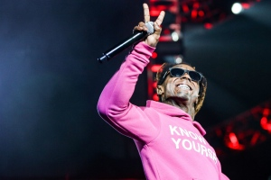 Lil Wayne performs at the 2016 BET Experience at the Staples Center on Saturday, June 25, 2016, in Los Angeles. (Photo by Rich Fury/Invision/AP)
