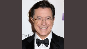 "In this Dec. 6, 2015 file photo, Stephen Colbert attends the 38th Annual Kennedy Center Honors at The Kennedy Center Hall of States in Washington. CBS announced Wednesday that Chris Licht will take over as the executive producer of Stephen Colbert's ""Late Show."" (Photo by Greg Allen/Invision/AP, File)"