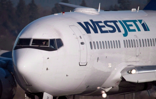 Ottawa-bound WestJet flight lands in Thunder Bay after threat