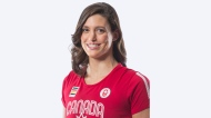 MICHELLE WILLIAMS (Swimming) –Born in Pretoria, South Africa, Williams' family moved to Canada when she was six years old. Last year she helped Canada win gold in the 4x100m freestyle relay at the Pan Am Games. (Canadian Olympic Committee)