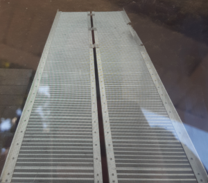 A wheelchair ramp that was reportedly stolen from the front step of a Mississauga home over the weekend is shown. Police say they have located the ramp and returned it to its rightful owners. (Peel Regional Police)