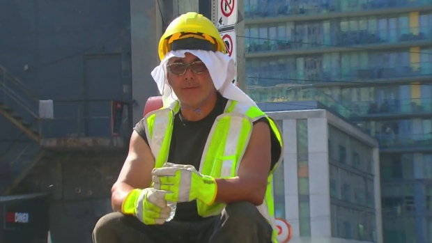 Heat's about to break with cold front looming: Environment Canada