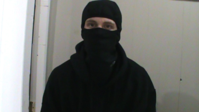 The suspect in an alleged terror plot, Aaron Driver, is seen in this photograph obtained by CTV News.